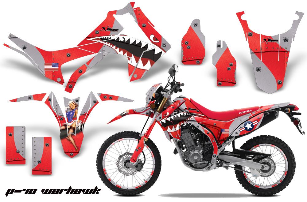 HONDA CRFL DirtBike P Water Hawk Moto Vinyl Decal Graphic - Decal graphics for dirt bikes